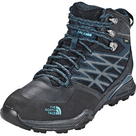 The North Face Hedgehog Hike Mid GTX Shoes Men Phantom Grey/Boulder Blue